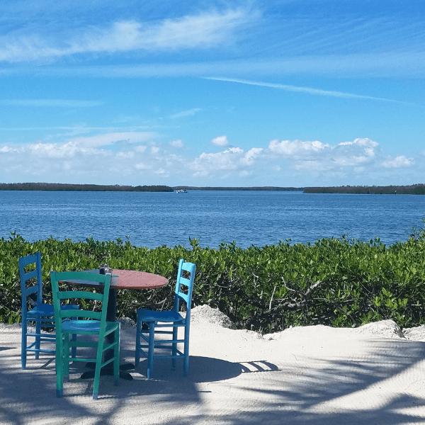 Morada Bay Beach Café on Islamorada