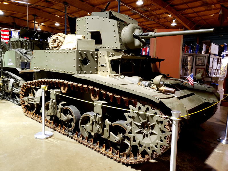 There are over 30 historic vehicles at the U.S. Veterans Memorial Museum in Huntsville Alabama