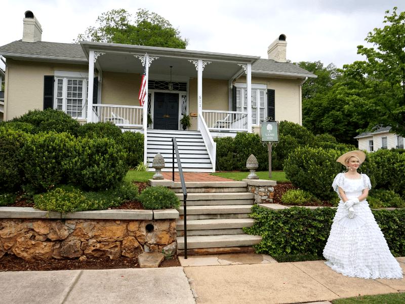 Huntsville attractions include its historic architecture