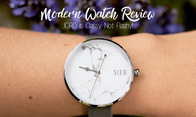 Modern Watch Review, JORD Is Classy Not Flashy!