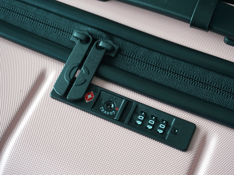 Chester Minima recessed TSA-approved lock