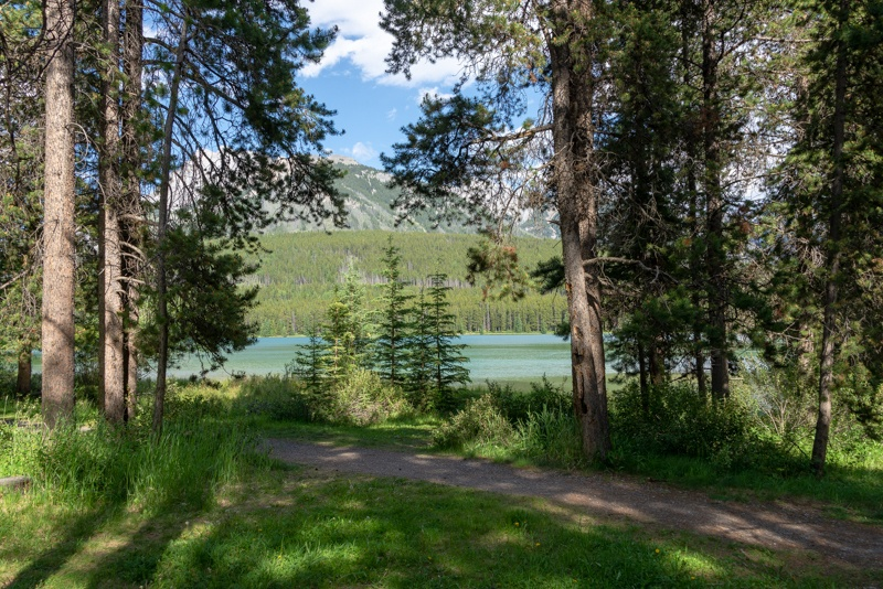 Banff: Comfort Camping In Otentiks At Two Jack Lakeside Campground