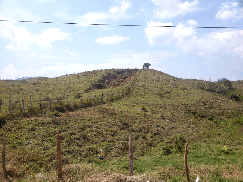 The view from the bus on the way to Copan Ruinas