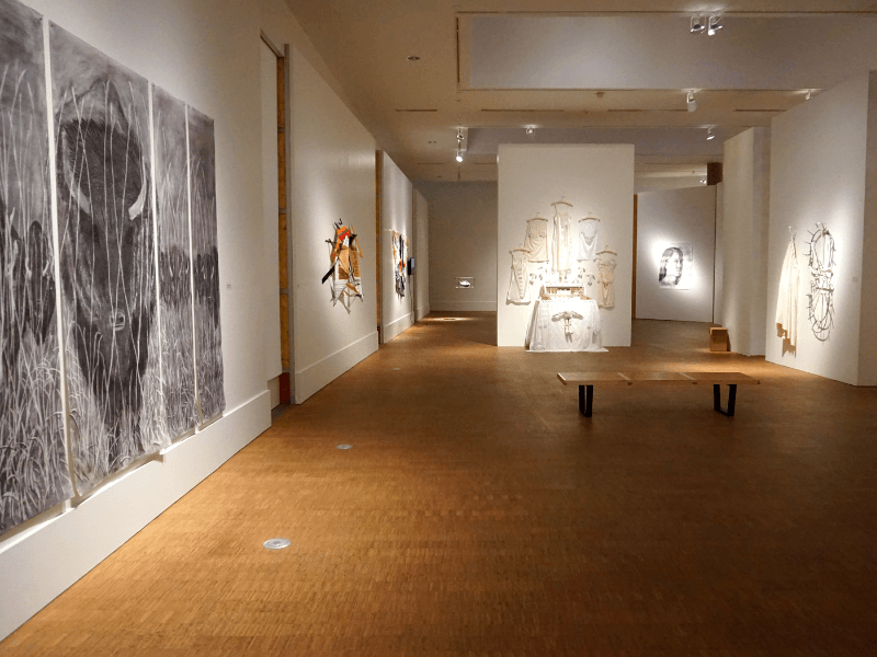 Faulconer Gallery on the Grinnell College campus