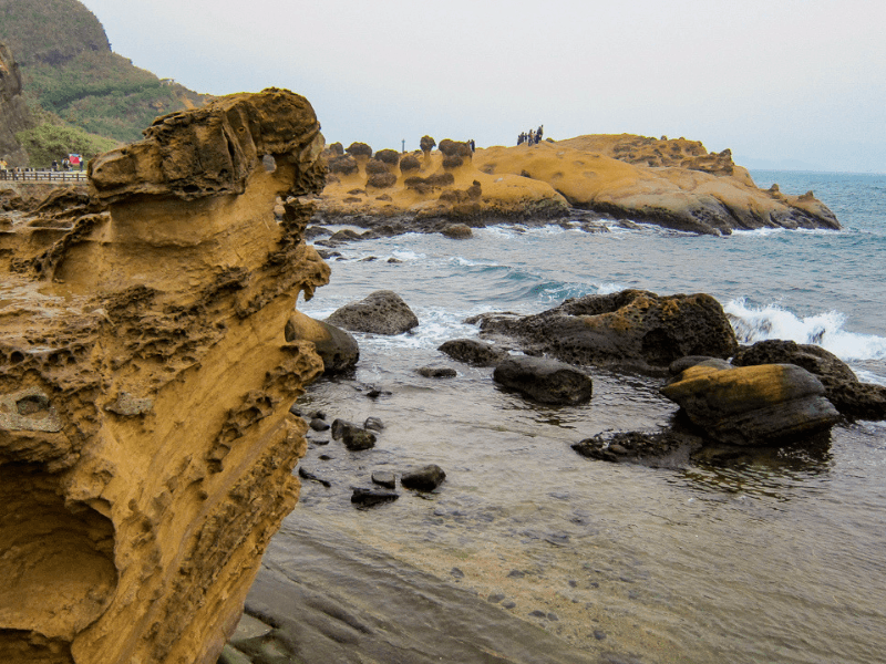 Visiting Yehliu Geopark is one of the top things to do in Taiwan