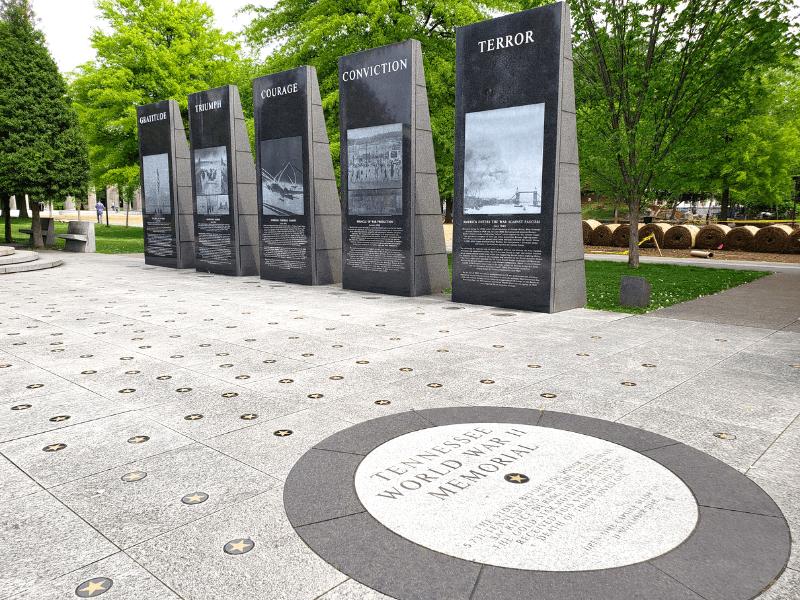 World War II Memorial in Nashville