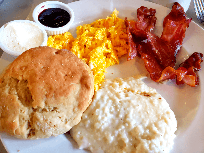 American Breakfast at Marche Artisan Foods