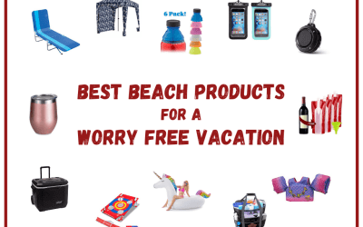 Best Beach Products For A Worry Free Vacation