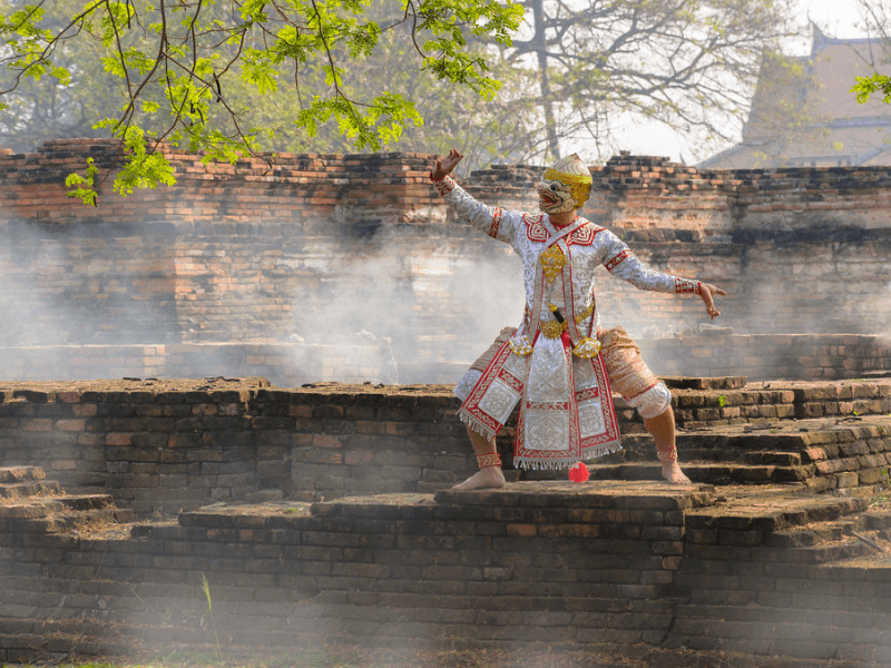 Watching a Ramakien is a great way to experience Thai culture