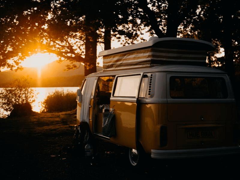 Campervan or caravan? Campervans offer more freedom of movement