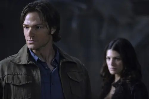 Jared Padalecki and Genevieve Cortese, Supernatural