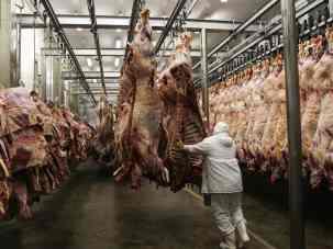 Producția de carne și lactate implică aproape 70% din consumul mondial de apă dulce, adică 38% din totalul terestru și 19% din emisiile globale de gaze cu efect de seră.