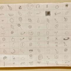 Fin Rice 100 Doodles