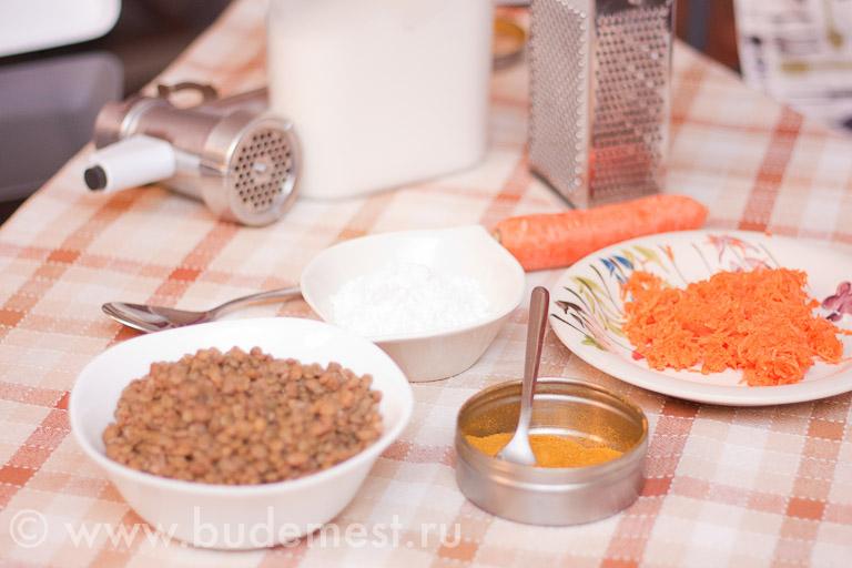 Ингредиенты для приготовления бургера