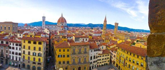 Вид на крыши Флоренции