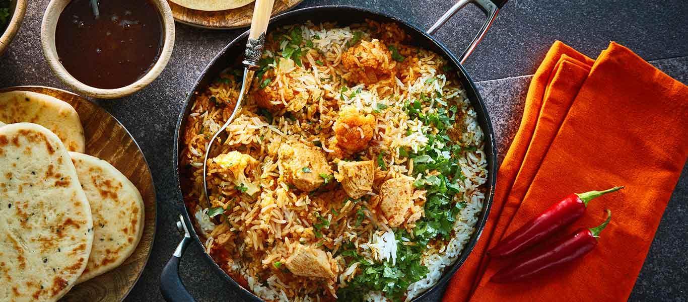 Kuliner khas Idul FitriKuliner khas Idul Fitri - Biryani