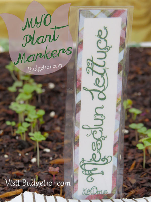 Diy Reusable Garden Markers