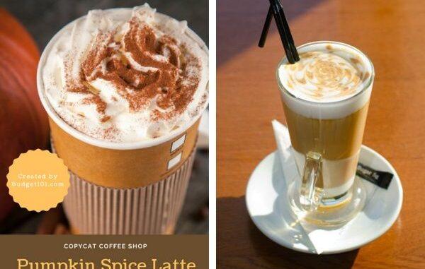 copycat starbucks pumpkin latte