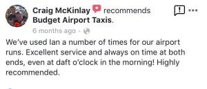 Glasgow Airport Budget Reviews