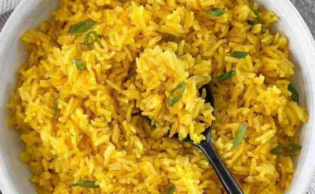 Yellow Jasmine Rice Budget Bytes