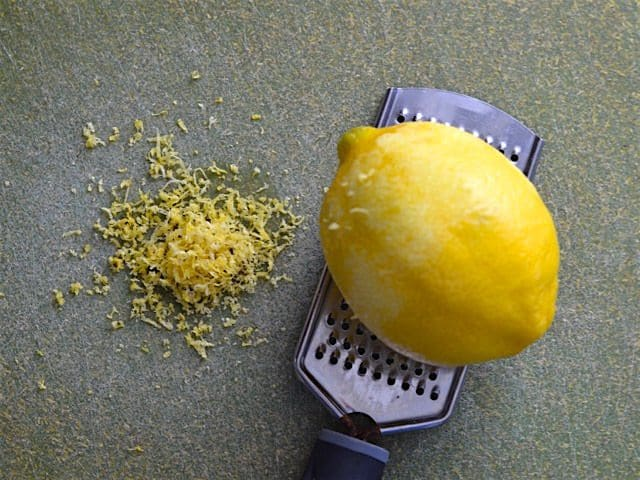 How Make Lemon Zest Grater