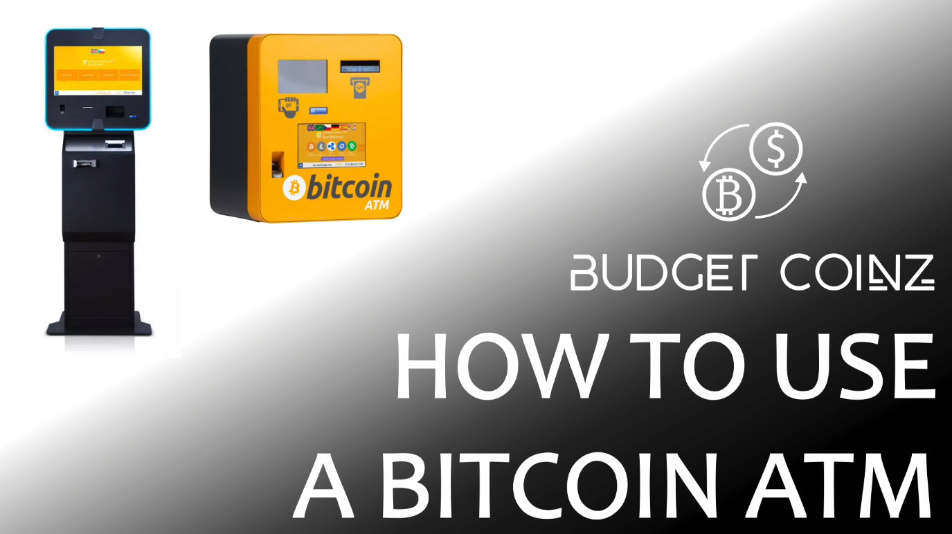 How to use a bitcoin atm to buy or send bitcoin - BudgetCoinz