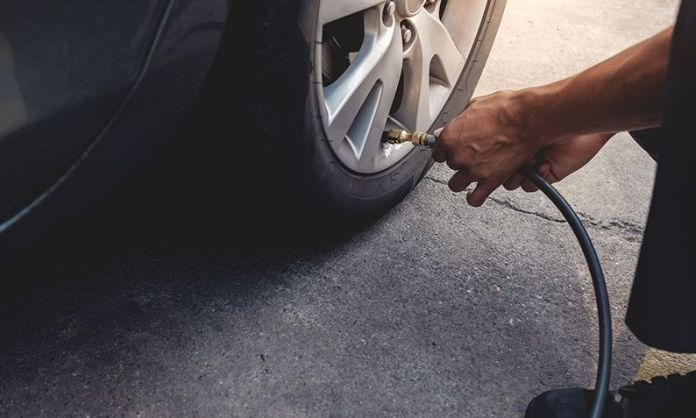Checking Tyre Pressures
