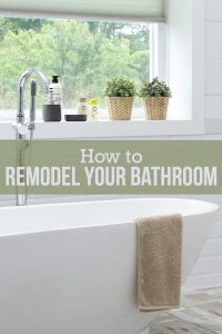 A Step-by-Step Guide to a Do It Yourself Bathroom Remodel ...