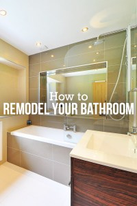 How To Remodel Your Bathroom | Desainrumahkeren.com