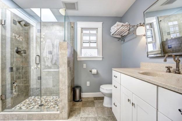 diy bathtub to shower conversion | budget dumpster