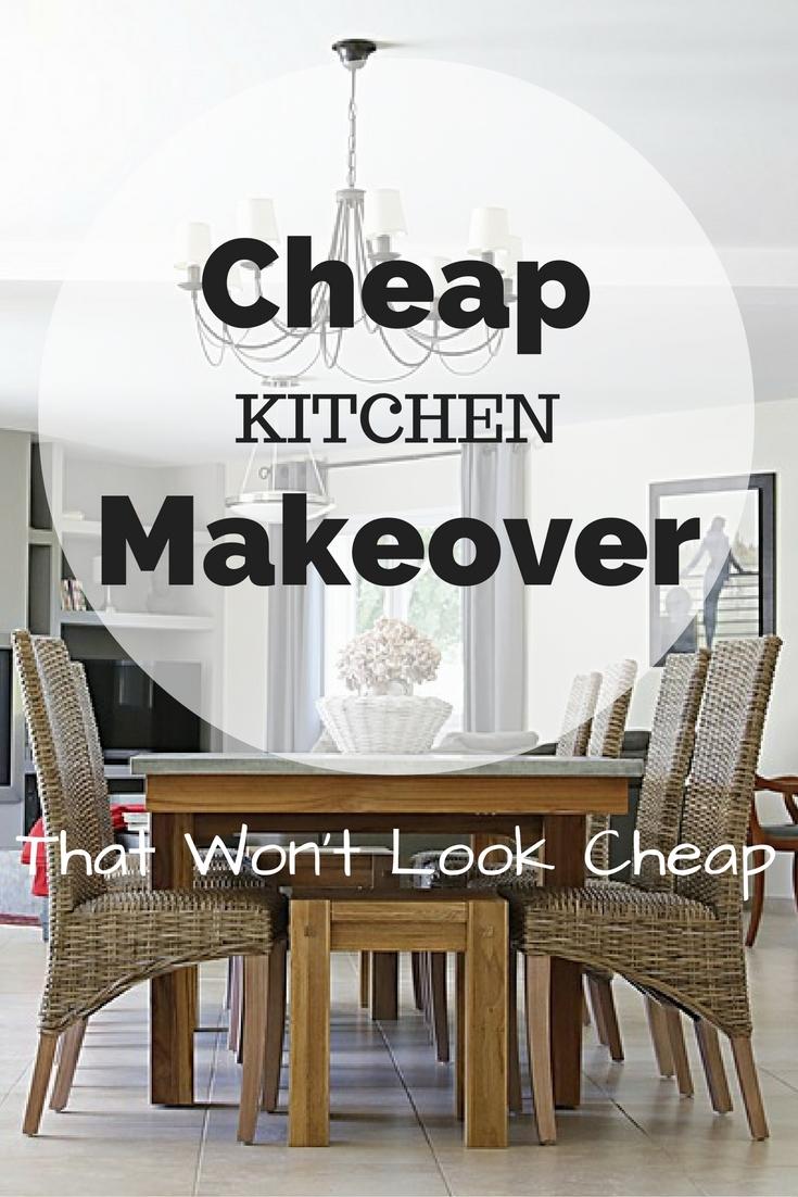 DesignonaDime Renovation Ideas for a Cheap Kitchen Makeover