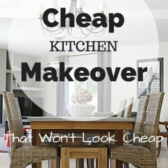 Remodel Kitchen Cheap Appliance Shelf Design-on-a-dime Renovation Ideas For A Makeover