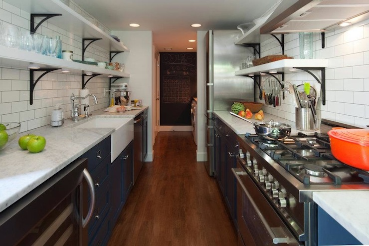 Two Way Galley Kitchen Designs