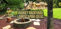 10 Ideas for Backyard Landscaping on a Budget   Budget ...