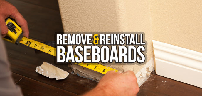 How To Nail Baseboards To Wall