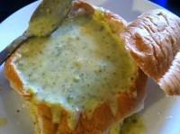 Broccoli-Cheddar Soup Bread Bowl | Budget Epicurean