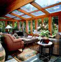 Images of Four Season Sun Room with Glass Roof