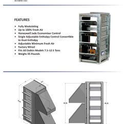 Daikin Split Ac 1 5 Ton Wiring Diagram Association In Class Example 7 12 Horizontal Economizer Dcc Dcg Dch