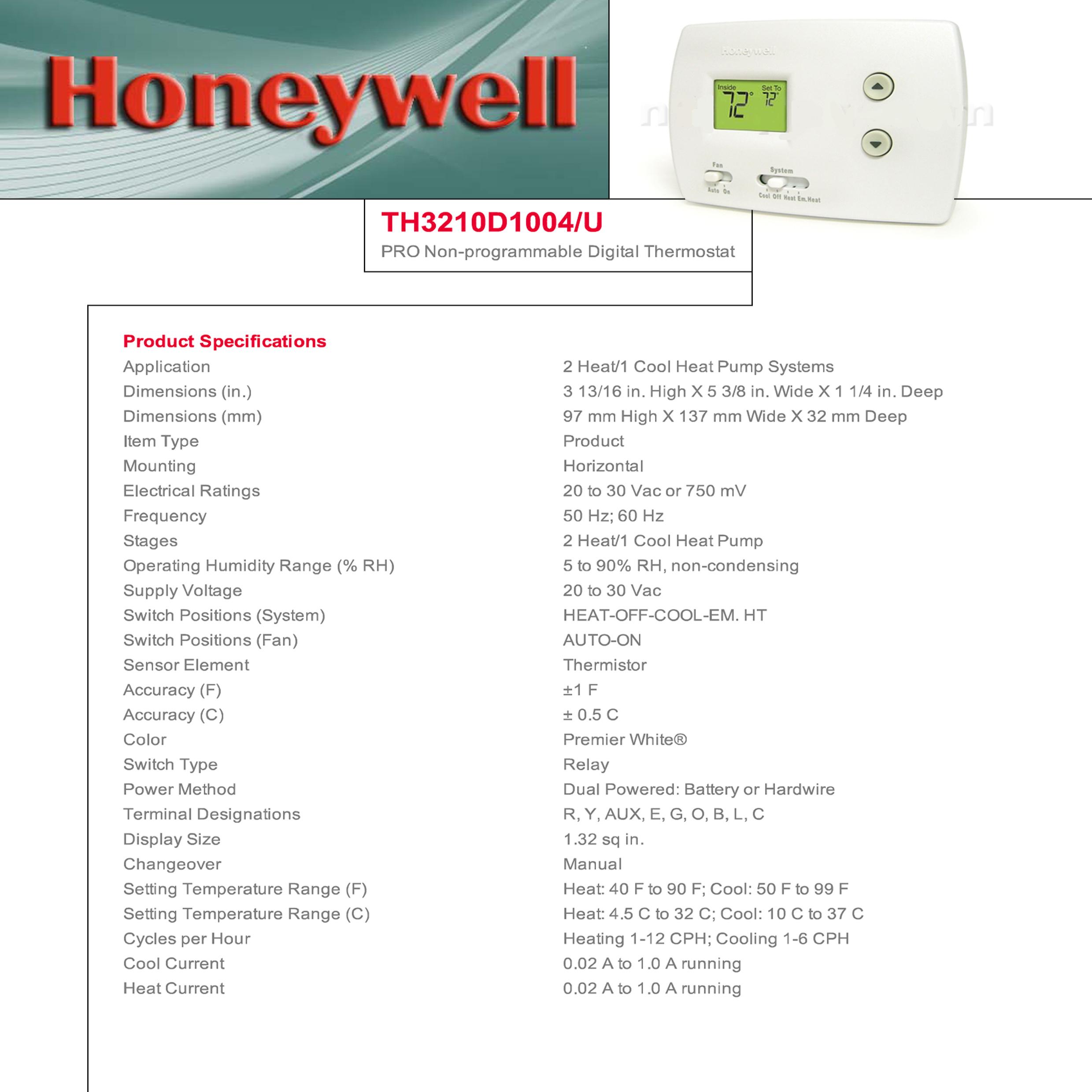 honeywell thermostat wiring diagram th3210d1004 2006 honda civic alternator th3110d1008