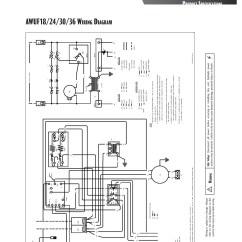 Goodman 4 Ton Heat Pump Wiring Diagram 04 Dodge Durango Fuse 3 Central Indoor Air Handler Awuf36 16