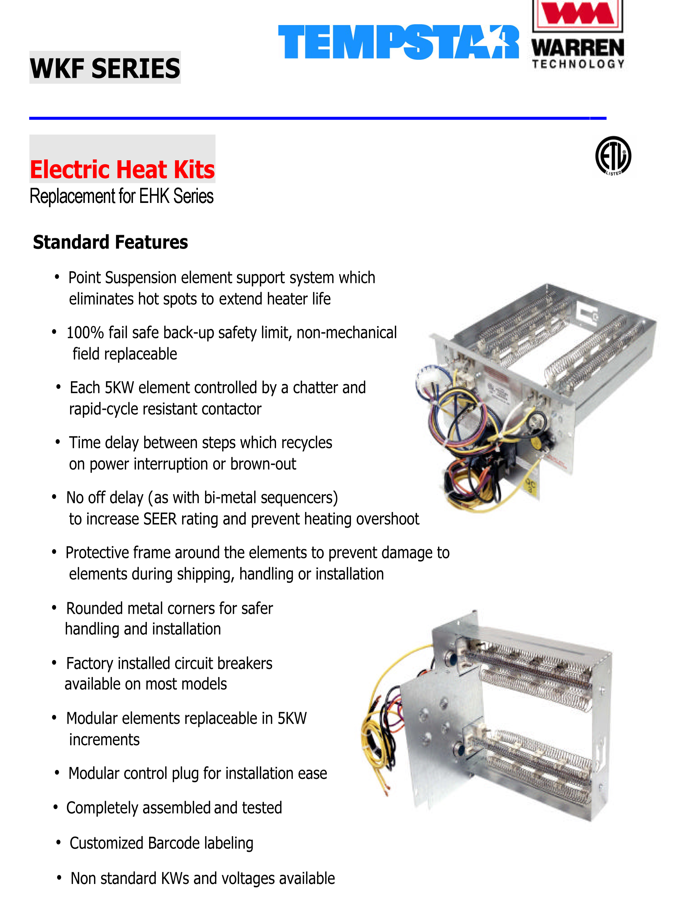 heil 5000 wiring diagram how to do a plot 10 kw heat strip for tempstar air handlers eb p x v wa
