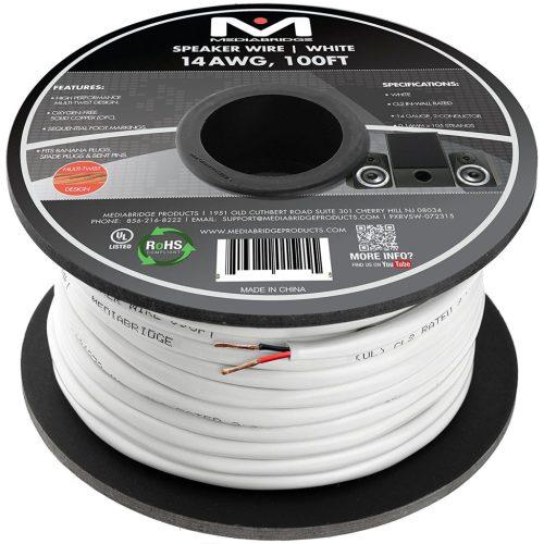 small resolution of mediabridge 14awg speaker wire budget home theater speaker