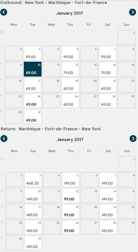 norwegian air jfk to fdf results