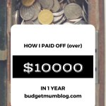 How to pay off $10,000 in a year