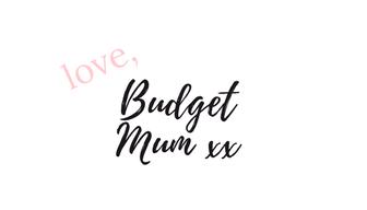 love budget mum