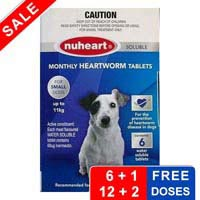 Nuheart Heartworm Tablets for Dogs : Nuheart Generic Heartgard for Dogs   BudgetPetCare.com