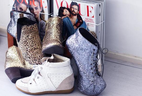 goed doen met je oude schoen
