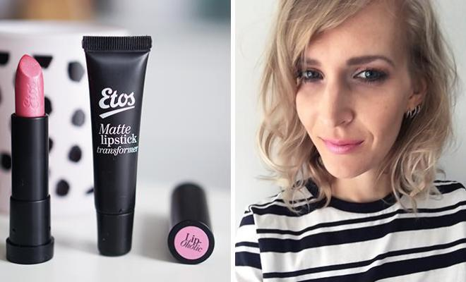 lipstick mat maken - Etos lipstick transformer