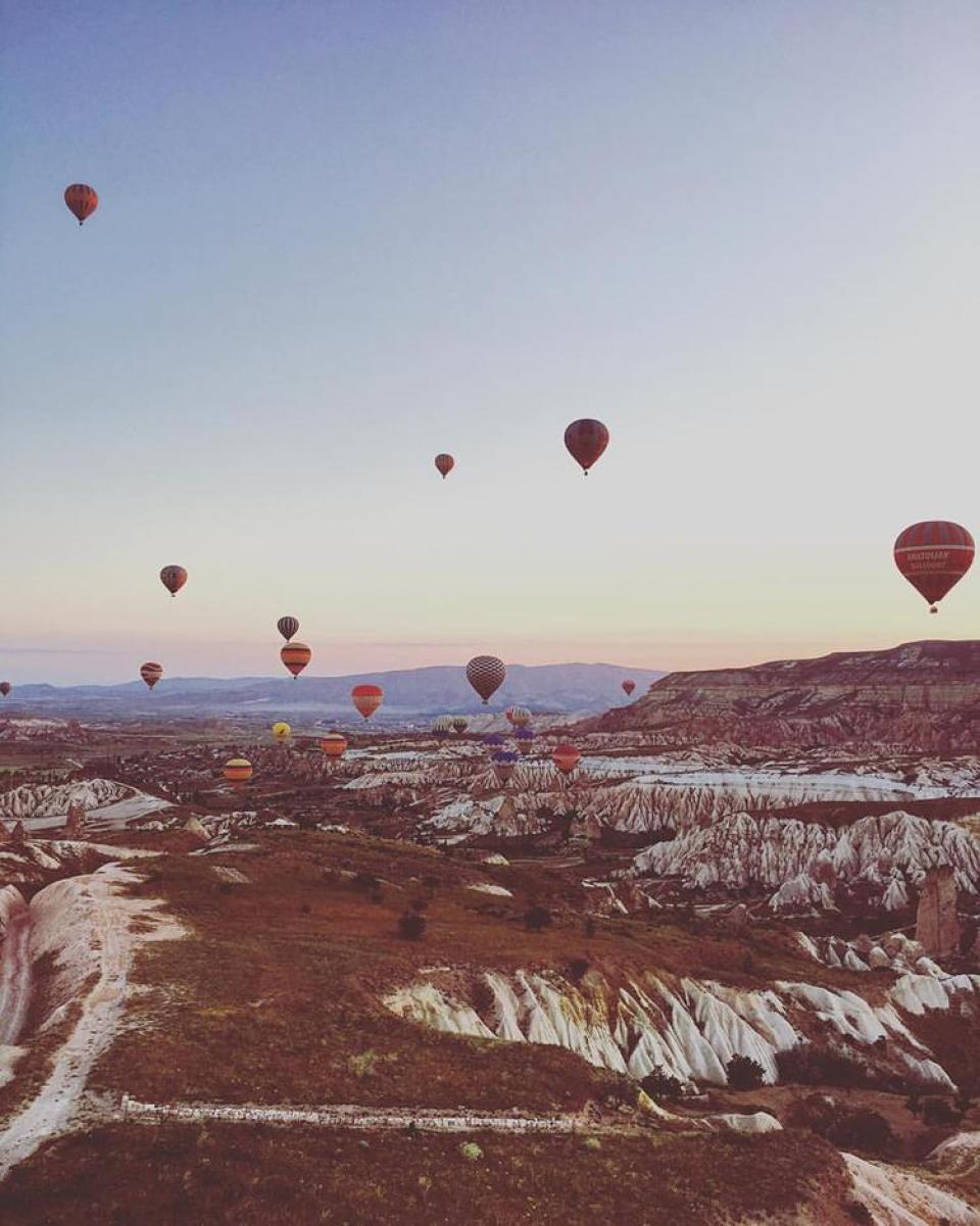 ballonvlucht cappadocie - insta