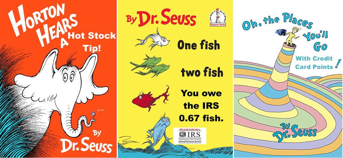 dr seuss money books